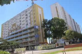 Les immeubles Gounod, Haendels et Ingres, au Grand Parc (SB/Rue89 Bordeaux)