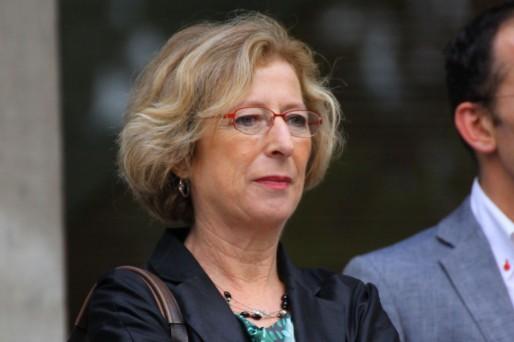 Geneviève Fioraso, secrétaire d'État à l'Enseignement supérieur et à la Recherche (Wikipedia)