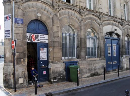 L'Irem rue Lecoq à Bordeaux (WS/Rue89 Bordeaux)