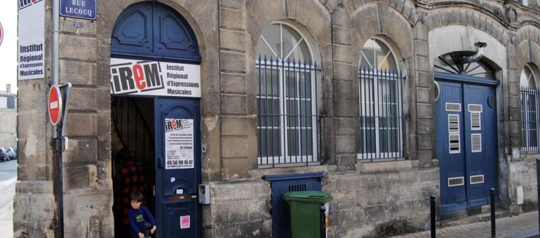 L'école de musique de l'Irem gardera porte close pour la rentrée