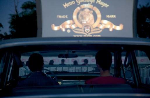 Une séance de cinéma drive-in lors des 20 ans du festival Cinésites (Photo Aurore Lesprit/Centre Jean Vigo Événements)