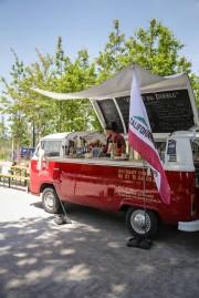 """L'un des premiers food trucks implanté à Bordeaux, le flamboyant """"El Taco Del Diablo"""" compte bien faire voyager les papilles des Bordelais jusqu'à la Californie. (DR)"""
