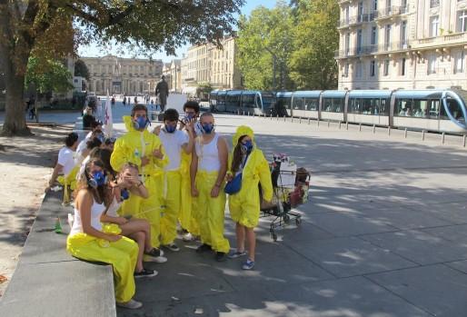 Journée d'intégration des étudiants en médecine (Photo SB/Rue89 Bordeaux)