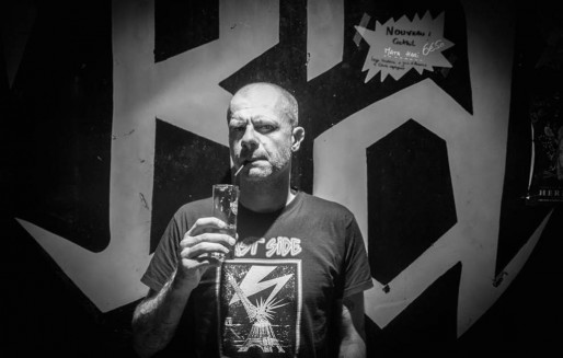Guillaume Gwardeath au bar rock Wunderbar. (Photo Kami Graphy/Source Facebook)