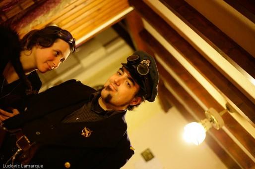 Korben et Gwenwed, couple de steamers (Ludovic Lamarque/Rue89 Bordeaux)