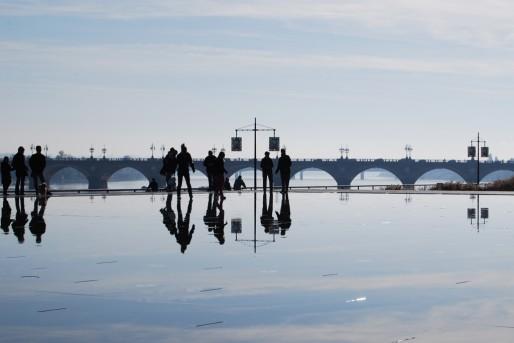 Le miroir d'eau à Bordeaux (WS/Rue89 Bordeaux)