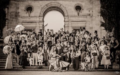 Un groupe de steamers à Bordeaux (DR)