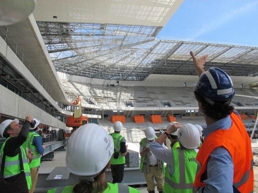 Visite du chantier du Nouveau Stade de Bordeaux (SB/Rue89 Bordeaux)