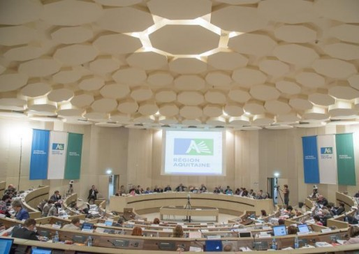 Séance plénière au Conseil régional d'Aquitaine (DR)