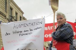 Manifestation du Premier Mai à Bordeaux (SB/Rue89 Bordeaux)