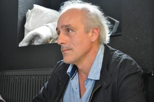 """Philippe Poutou : """"Si on peut se débarrasser des bagnoles, allons-y !"""" (Xavier Ridon/Rue89 Bordeaux)"""