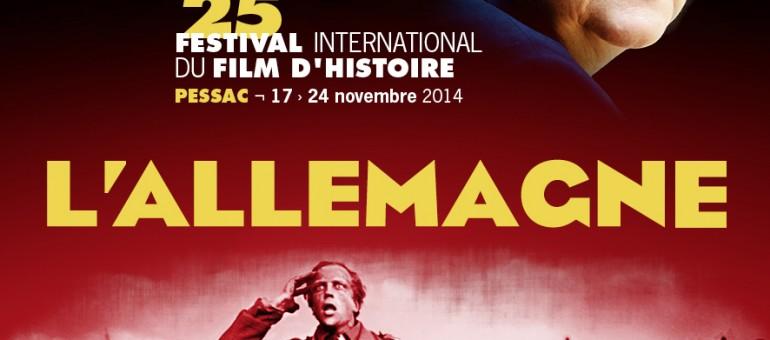 L'Allemagne à Pessac pour le 25e festival du film d'Histoire