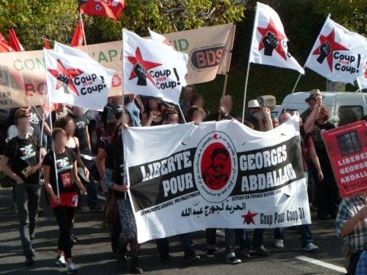 Manifestation à Lannemezan pour la libération de Georges Ibrahim Abdallah (DR)