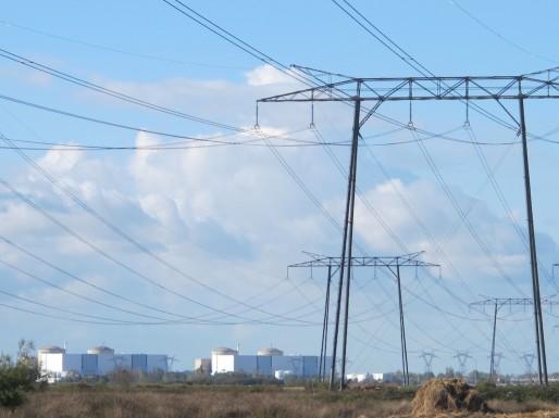 La centrale nucléaire du Blayais, près de Braud Saint Louis (SB/Rue89 Bordeaux)