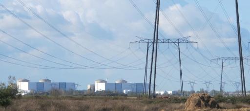 La centrale nucléaire du Blayais (SB/Rue89 Bordeaux)