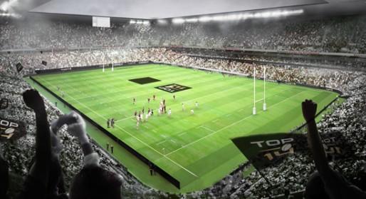 Le Grand Stade (Image du site de la Ville de Bordeaux, © Herzog & De Meuron)
