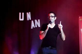 François Demené, humoriste et magicien au Diamant Rose (photo Malick Pec)