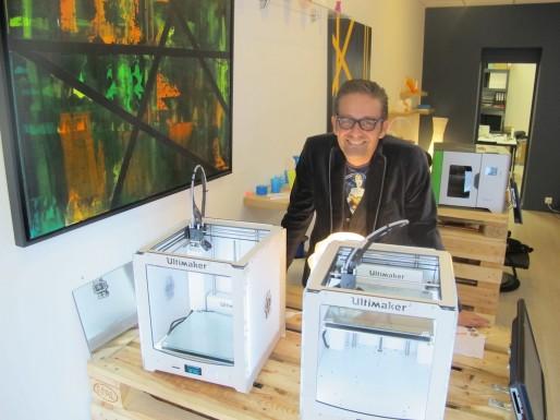 Olivier Guillou espère multiplier les enseignes IdeoKube partout en France (SB/Rue89 Bordeaux)