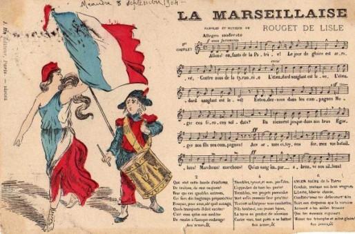 Musique et paroles de La Marseillaise (DR)