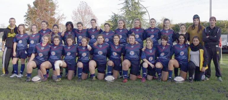 Stade Bordelais : Les Lionnes conjuguent le rugby au féminin