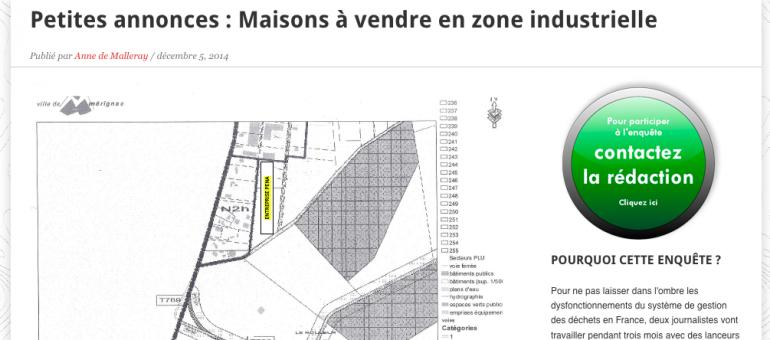 Mérignac : maisons à vendre en zone industrielle