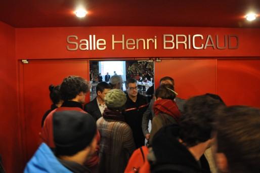 Les manifestants ont stoppé la tenue du Conseil d'administration de l'Université de Bordeaux (Xavier Ridon/Rue89Bordeaux)