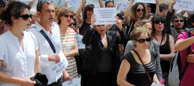 Les intermittents et précaires répliqueront à Valls