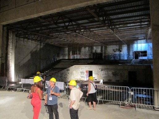 Visite de la Salle des fêtes en juin dernier (SB/Rue89 Bordeaux)