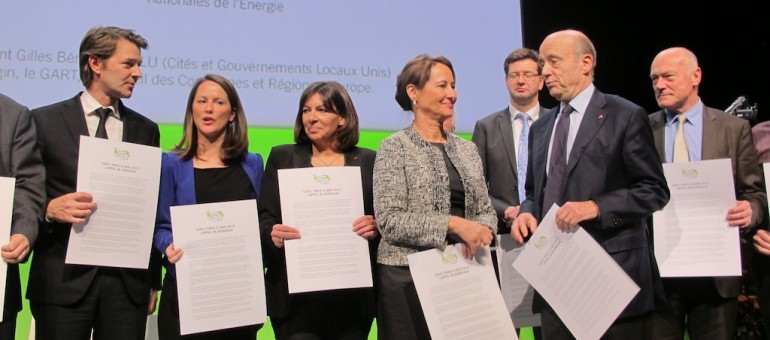 Un «appel de Bordeaux» pour un accord global sur le climat