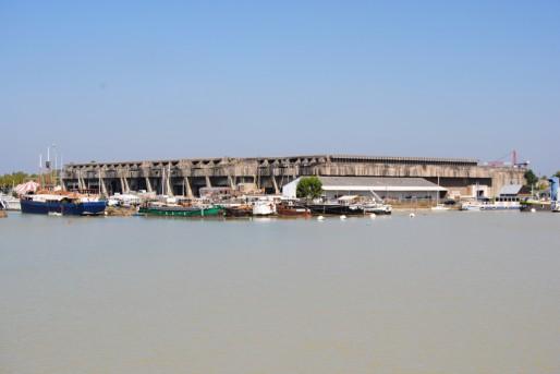 Le port de plaisance des Bassins à flot a attiré les entreprises liées au nautisme (WS/Rue89 Bordeaux)