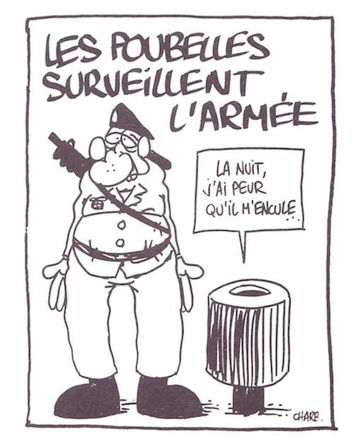 Dessin de Charb (DR)