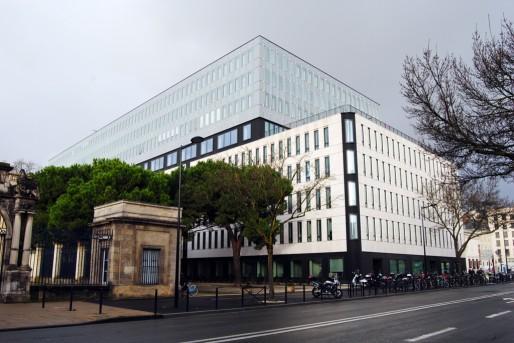 Le cité municipale de Bordeaux, 2000 m2 pour accueillir 850 agents (WS/Rue89 Bordeaux)
