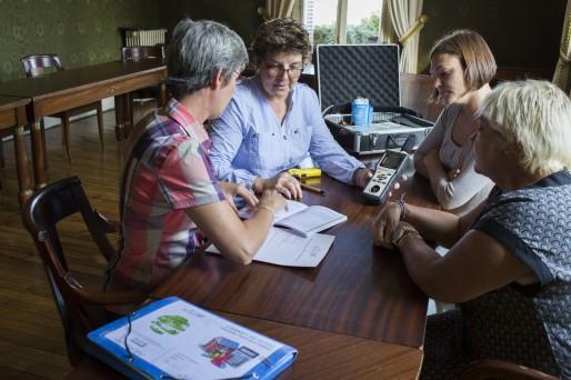 Les fondatrices de l'association font le point après l'utilisation de la mallette par des particuliers (Photo Philippe Besnard)