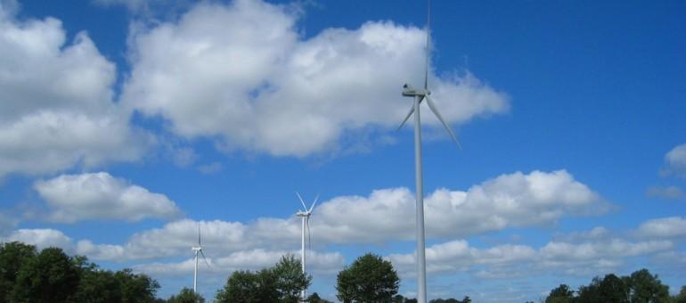 Le parc éolien de Saulgond Lesterps, géré en Charente par ABO WInd, candidat à la création d'une première ferme en Aquitaine (ABO Wind)