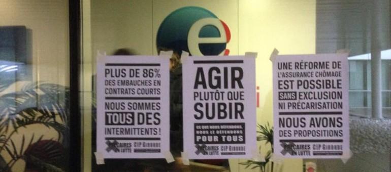 Coup de force de la CIP Gironde à Pôle emploi