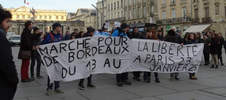 La marche des lycéens prouve «la solidarité française»