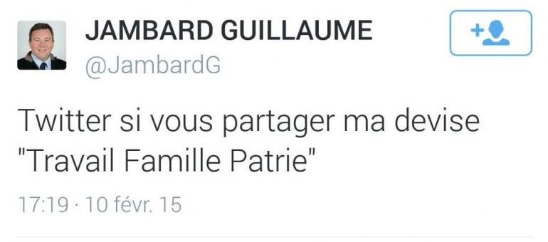 Un candidat FN de Gironde «aime» les mots de Pétain