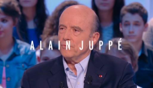 Alain Juppé au Grand Journal (Capture écran)