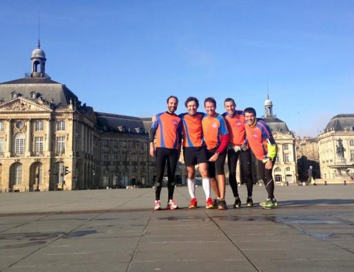Les membres de Bordeaux Charity Running courent pour sensibiliser le public à la lutte contre le cancer (DR)