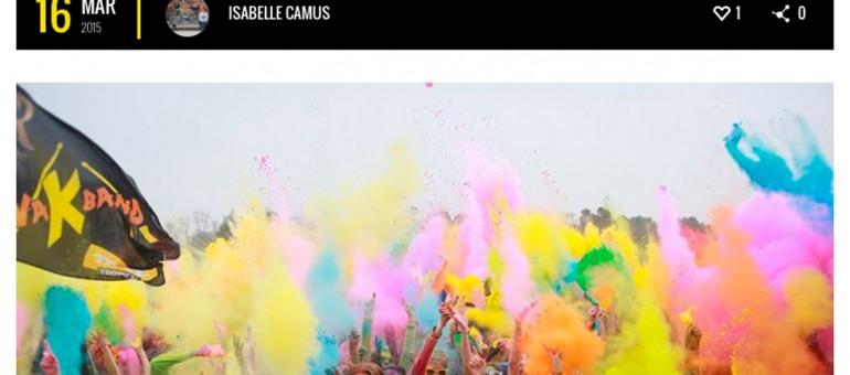 Les étudiants fêtent la couleur avec Burdi'Color