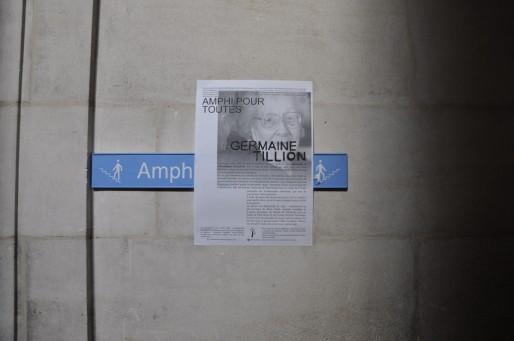 L'amphi Gintrac à l'Université Victor Segalen a été rebaptisé amphi Germain Tillon (Xavier Ridon/Rue89 Bordeaux)