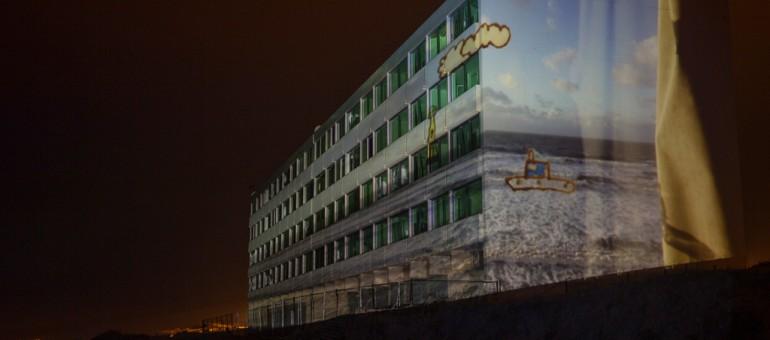A Soulac, Le Signal attend la marée du siècle tout en art