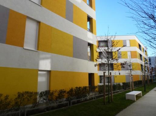 1100 logements constituent le quartier des Terres Neuves (OD/Rue89 Bordeaux)