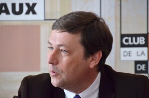 Yves d'Amécourt, le 9 mars au Club de la Presse (DR)