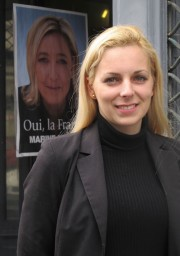 Edwige Diaz, candidate FN dans le canton des Landes de Graves (SB/Rue89 Bordeaux)