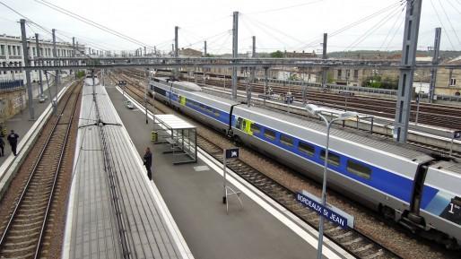 La gare Saint-Jean à Bordeaux (David McKelvey/flickr/CC)