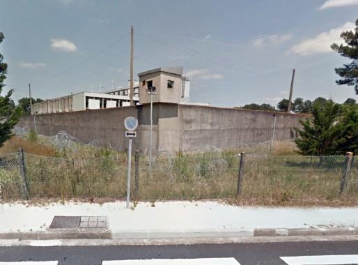 La prison de Gradignan, vue de la rue Chouiney (DR)