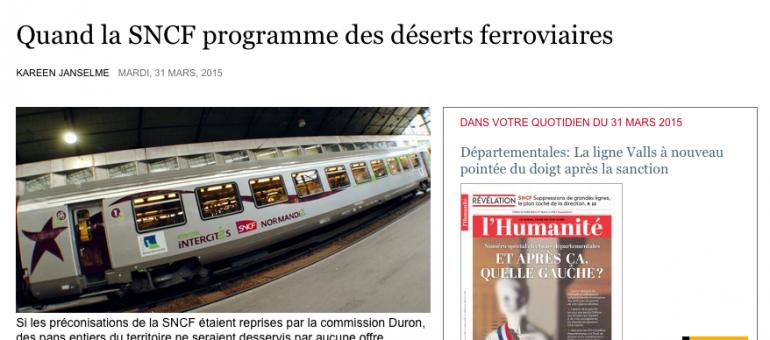 SNCF : l'Intercités Bordeaux-Lyon menacé