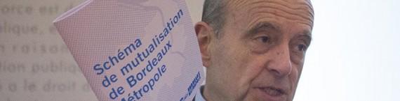 Alain Juppé s'accroche au schéma de mutualisation, malgré les critiques syndicales (DR)