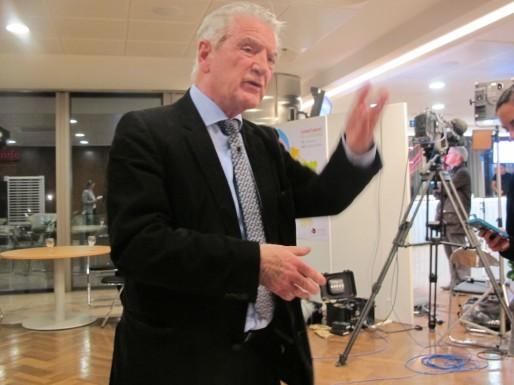 Philippe Madrelle pourra sans doute tirer sa révérence sur une victoire de la gauche (SB/Rue89 Bordeaux)